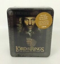 Lord of the Rings Return of the King Collectible Action Flipz Tin w Aragorn 2003