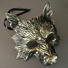 Scary Wolf Evil Costume Halloween Masquerade Party Mask