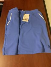 NWT Footjoy Women's Large Blue Performance knit Golf Skort NEW