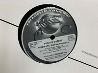 """POINTER SISTERS AUTOMATIC SPECIAL REMIX 12"""" 1983 PLANET JD13721 DJ PROMO"""