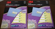 300 NEW BABY ANNOUNCEMENT BABY SHOWER ADDRESS LABELS 3M 3900-H Laser Inkjet