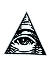 patch ecusson brode thermocollant oeil illuminati franc maçon masonic