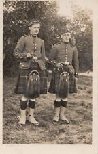 MILITARY :4th Btn CHESHIRE REGIMENT- Abergavenney 1913-Soldiers in Kilts 127-RP