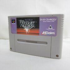 Super Famicom WARLOCK War Lock Nintendo Video Game Cartridge Only sfc
