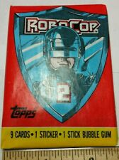 Unopened pack Of RoboCop 2 Trading Cards from 1990 Topps