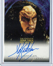 "Jg Hertzler ""Martok"" Star Trek Ds9 Auto Signed Card Nm-Mt Condition"
