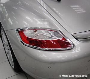 Porsche Cayman 2005-2008 Taillight Chrome Trim Upgrade (One Set)