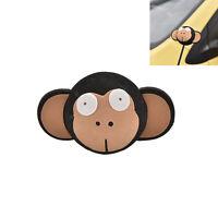 Cute Big Eyes Monkey Antenna Topper Eva Decorative Topper Balls for Car T slYJUS