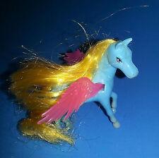 "Small Plastic Pegasus 2.75"" Tall x 2.5"" Long Plastic Figure - Ja-Ru China"