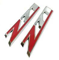 2016-2019 Chevrolet Colorado Z71 Emblem Nameplate Badge Red Z Kit 2pc New OEM