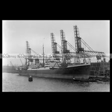 #php.01939 Photo SS TALISSE CARGO SHIP 1934 AMSTERDAM