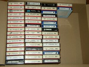 NEW Sealed 8 track tapes Choose your own titles from list FUNK Jazz R&B...$4.00