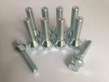 M12 x 1.5,17mm Hex,42mm prolungato catena,sede conica cerchio in lega bulloni.