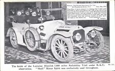 Advertising. Shell Motor Spirit # 232. Lorraine Dietrich RAC Trial & W.Sorel.