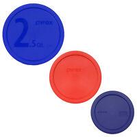 Pyrex Smart Essential 325-PC 2.5qt 323-PC 1.5qt 322-PC 1qt Lids for Mixing Bowls