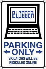 Blogger Parking Only Funny Novelty Stickers JDM Euro Sma SM1-486
