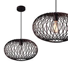 [lux.pro]® Lámpara colgante de diseño de metal lámpara de techo bronce redonda