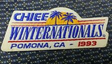 NHRA DRAG RACING CHIEF WINTER NATIONALS POMONA, CA 1993  Patch