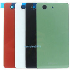 For Sony Xperia Z3 Mini Compact D5803 D5833 Glass Battery Back Cover Housing new