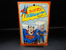 MOC 1979 vintage Japanese SUPERMAN vinyl figure DC comics Japan 1970's sofubi !!