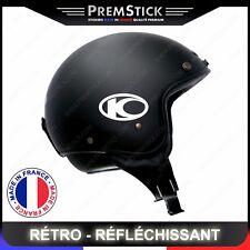 Kit 4 Stickers Retro Reflechissant Kymco - Casque Moto autocollant, ref2