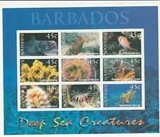 Barbados postfris 2001 MNH vel/sheet 998-1006 - Onderwater Leven (XB1032)