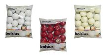 WHOLESALE BOLSIUS IVORY, RED OR WHITE FLOATING CANDLES - 20 PACK 5HOUR BURN!!