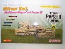 1:144  GERMAN MORSER KARL MUNITIONS CARRIER & GUN KIT  #28  PRODUCT # 14510 SALE