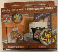 Exclusive Pokemon Worlds 2019 DC Double Deckbox Factory Sealed