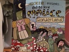 Drum'n Bass Goldie vinile triplo Rufige Kru  Malice in Wonderland