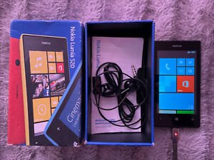 Nokia Lumia 520 - 8GB - Black (O2) Smartphone