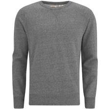 Levi's Levis Crew Sweatshirt Grey Heather Vintage 50s Sweater Felpa Garzata L