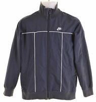 NIKE Boys Overjacket 12-13 Years Navy Blue Polyester  LS15