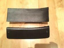 Saab 9000 Aero Cse Anni Black Dash Top Cover + Lower Dash Cover Trim In Black