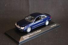 Minichamps Mercedes-Benz CLK-Klasse 2002 1:43 Tansanitblau (JS)