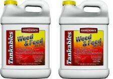(2) ea Pbi Gordon's 7171120 2.5 Gallon LIquid Weed & Feed Lawn Fertilizer 15-0-0