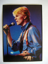 DAVID BOWIE IMAGE VIGNETTE FIGURINE PANINI 41 THE SMASH HITS COLLECTION