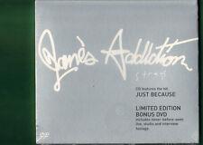 JANE'S ADDICTION - STRAYS LIMITED EDITION BONUS DVD   CD NUOVO SIGILLATO