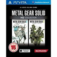 Metal Gear Solid HD Collection  PS Vita For PAL PS Vita (New & Sealed)