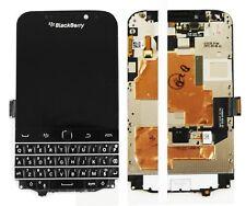 100% Genuine Blackberry Q20 Full LCD Touch Screen Display Full Frame Black
