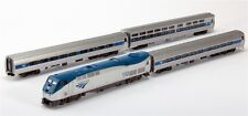 Kato N 106-6285 Amtrak/Amfleet Phase VI P42 Loco & Three Passenger Cars Set New!