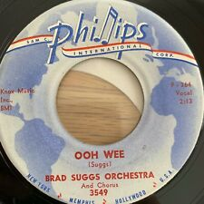 """Brad Suggs Orchestra - I Walk The Line // 7"""" - 1. US-Pressing 1959"""
