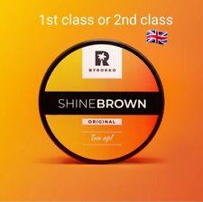Byrokko shine brown FAST tanning accelerator cream sunbed & outdoors UK seller