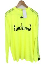 adidas x Alexander Wang Long Sleeve Soccer Jersey Top CW0504 - Yellow - L - New