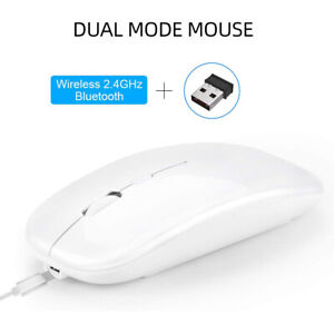 Fast Scrolling Wireless Mouse Compatible with Apple Mac or Microsoft Windows