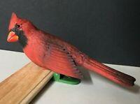 1978 Hallmark Ornament - Red Cardinal - Clip-On - No Box