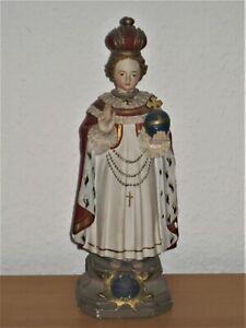 Alte Heiligenfigur / Prager Jesulein / Jesukind
