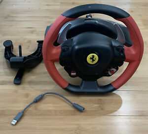 Thrustmaster Ferrari 458 Spider Racing Wheel Xbox One PC - Steering Wheel Only