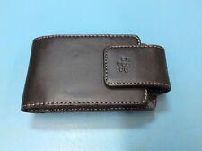 Blackberry OEM Leather Clip Magnetic Belt Holster Case