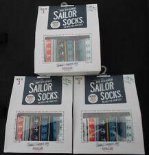 9 Pares de Calcetines de Bambú para mujer Sailor de Seasalt Talla 3-8 Reino Unido 36-42 UE Sal de Mar